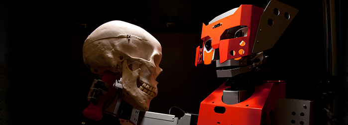 Robots that are inspired by biology, like Dr. Emil Petriu's, are an example of the advanced research being conducted at the University of Ottawa.